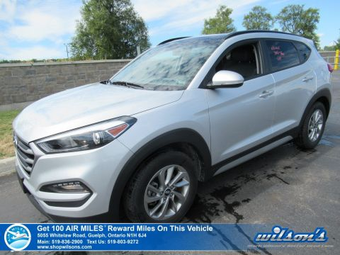 Certified Pre-Owned 2018 Hyundai Tucson SE 2.0L Used AWD - New Tires! Leather, Sunroof, Heated Steering + Seats, Bluetooth and more!