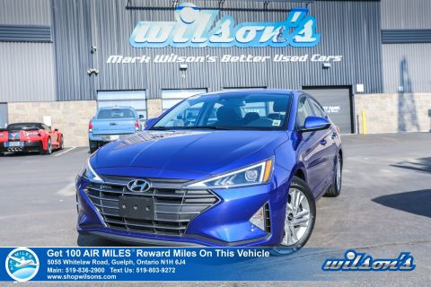 Certified Pre-Owned 2019 Hyundai Elantra Used Preferred - Sunroof, Proximity Key, Hands-Free Smart Trunk, Heated Steering and more!