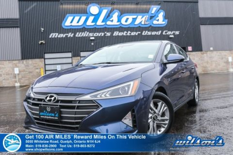 Certified Pre-Owned 2019 Hyundai Elantra Preferred - Sunroof, Forward Collision Avoidance, Heated Steering, Android Auto / Apple CarPlay,