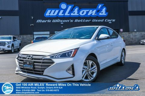 Certified Pre-Owned 2019 Hyundai Elantra Preferred - Rear Camera, Bluetooth, Heated Steering + Seats, Cruise Control, Alloys