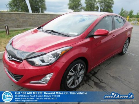 Certified Pre-Owned 2015 Hyundai Elantra GLS - Sunroof, Heated Seats, Alloy Wheels, Cruise Control, Power Package and more!