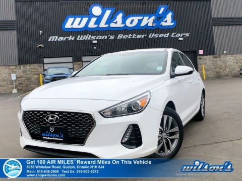 Certified Pre-Owned 2018 Hyundai Elantra GT-GL Hatch - Heated Steering + Seats, Android Auto + Apple CarPlay, Blind Spot + Rear Traffic Alert
