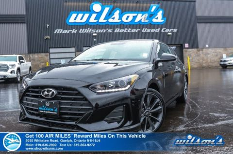 "Certified Pre-Owned 2019 Hyundai Veloster GL – Rear Camera, Bluetooth, 7"" Display, Apple CarPlay & Android Auto, Blind Spot Detection & More"