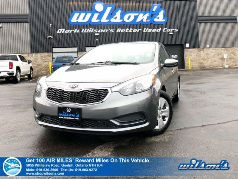 Certified Pre-Owned 2016 Kia Forte LX - Bluetooth, A/C, Power Package, Steering Radio Controls
