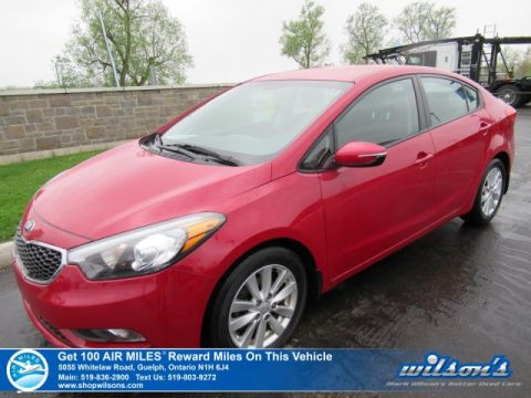 Certified Pre-Owned 2015 Kia Forte LX - NEW TIRES! Heated Seats, Bluetooth, Cruise Control, A/C, Power Group, Alloys & More!