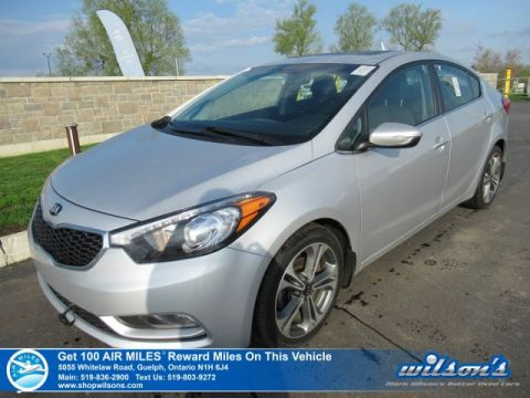 Certified Pre-Owned 2015 Kia Forte EX - Sunroof, Heated Seats, Rear Camera, Bluetooth, Alloy Wheels and more!