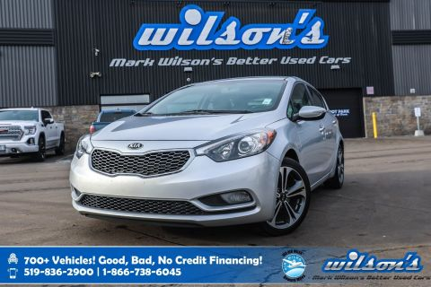 Certified Pre-Owned 2016 Kia Forte EX Hatchback, Rear Camera, Heated Seats, Bluetooth, Alloys, Cruise Control, Power Package and more!