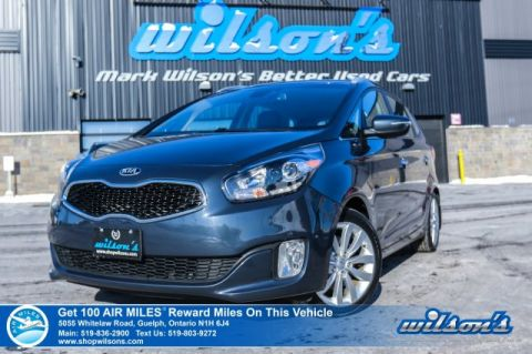Certified Pre-Owned 2015 Kia Rondo EX - Leather, Rear Camera, Heated Seats & Steering, Bluetooth & Lots More!