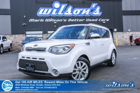 Certified Pre-Owned 2015 Kia Soul EX+ with Heated Seats, Bluetooth, Rear Camera, Keyless Entry, Alloys, Cruise Control and more!
