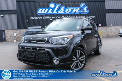 Certified Pre-Owned 2015 Kia Soul SX - Leather, Rear Camera, Bluetooth, Heated Seats, Cruise Control, Alloys and more!