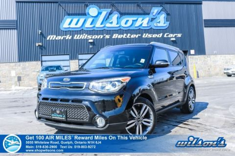 Certified Pre-Owned 2015 Kia Soul SX Hatchback - Leather, Sunroof, Navigation, Bluetooth, Rear Camera, Heated Steering & Seats!