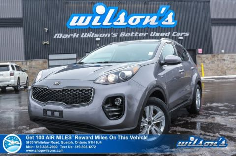 Certified Pre-Owned 2019 Kia Sportage LX AWD - Rear Camera, Bluetooth, Heated Seats, Alloys, Power Group and more