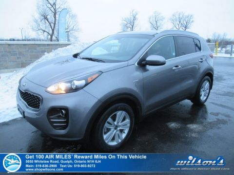 "Certified Pre-Owned 2017 Kia Sportage LX AWD | HEATED SEATS | BLUETOOTH | REAR CAMERA | 17"" ALLOYS"
