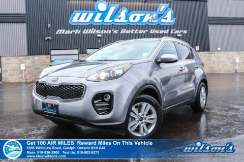 Certified Pre-Owned 2017 Kia Sportage LX AWD - Heated Seats, Rear Camera, Bluetooth, Cruise Control and more!
