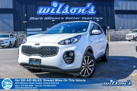 Certified Pre-Owned 2019 Kia Sportage EX AWD - Leather, Heated Seats & Steering, Bluetooth, Rear Camera, Android Auto