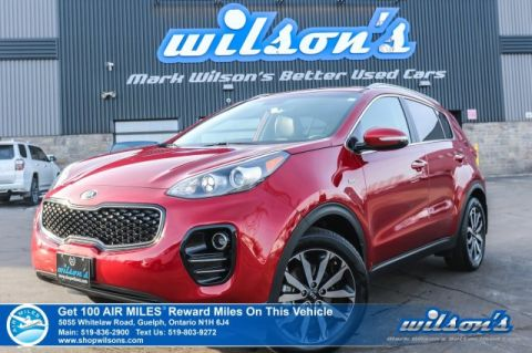 Certified Pre-Owned 2019 Kia Sportage EX AWD - Leather, Rear Camera, Bluetooth, Android Auto & Apple Car Play, & More!