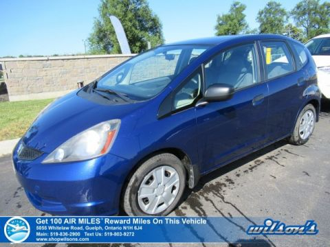 Certified Pre-Owned 2014 Honda Fit DX-A Hatchback - Manual, Air Conditioning, Power Windows, CD Player!