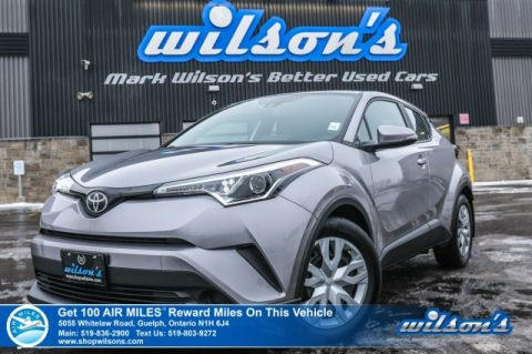 Certified Pre-Owned 2019 Toyota C-HR LE - Rear Camera, Bluetooth, Radar Cruise, Toyota Safety Sense, Apple Carplay, and lots more!