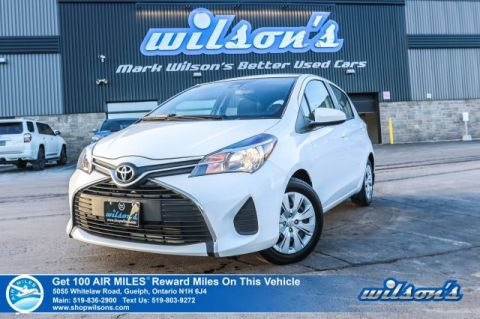 Certified Pre-Owned 2017 Toyota Yaris LE HATCHBACK | PRE-COLLISION WARNING | LANE DEPARTURE ALERT | AUTO HIGH BEAM | BLUETOOTH