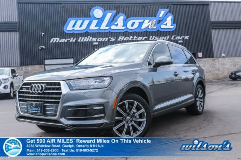 Certified Pre-Owned 2017 Audi Q7 quattro Technik - Leather, Navigation, Sunroof, Bose Audio, Blind Spot Monitor & Much More!