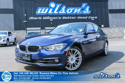 "Certified Pre-Owned 2016 BMW 3 Series 328i xDrive - New Tires! Leather, Sunroof, Navigation, Heated + Memory Seats, 19"" Alloys and more!"