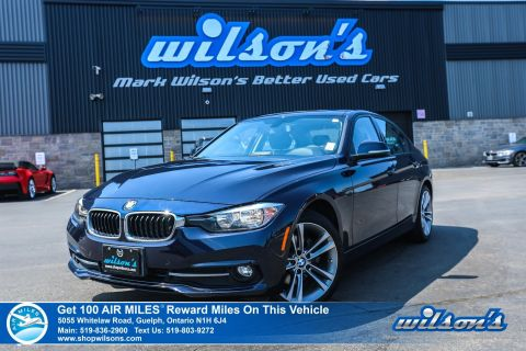 "Certified Pre-Owned 2016 BMW 3 Series 320i xDrive Used - Leather, Sunroof, Power Seat, Heated Seats, Bluetooth, 18"" Alloy Wheels and more!"