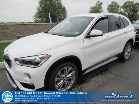 Certified Pre-Owned 2019 BMW X1 xDrive28i Used - Leatherette, Sunroof, Navigation, Collision & Lane Departure Warning & Lots More!