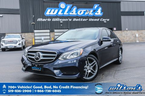 Certified Pre-Owned 2016 Mercedes-Benz E-Class E400 4MATIC, Navigation, Sunroof, New Tires, Rear Camera, Driver's Assistance Pkg