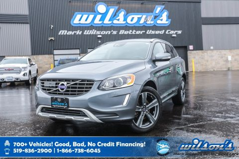 Certified Pre-Owned 2017 Volvo XC60 T5 Special Edition Premier AWD, Leather, Navigation, Sunroof, Rear Camera, Bluetooth, Heated Seats